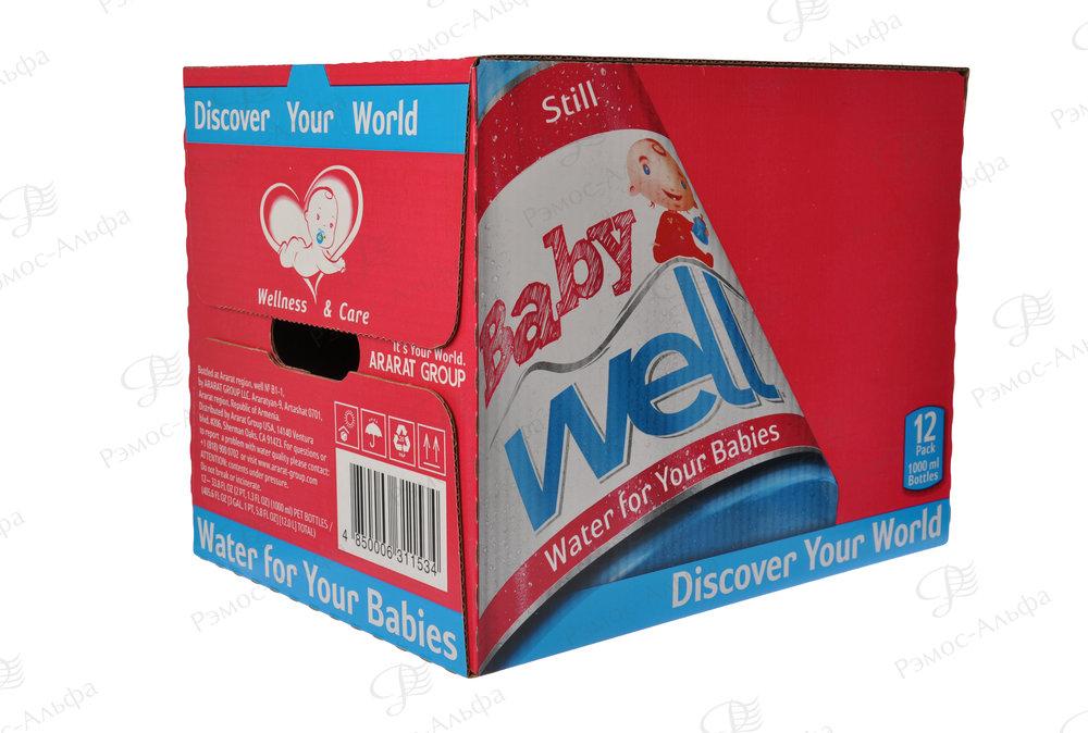 Вода для детей нашего клиента «Арарат».