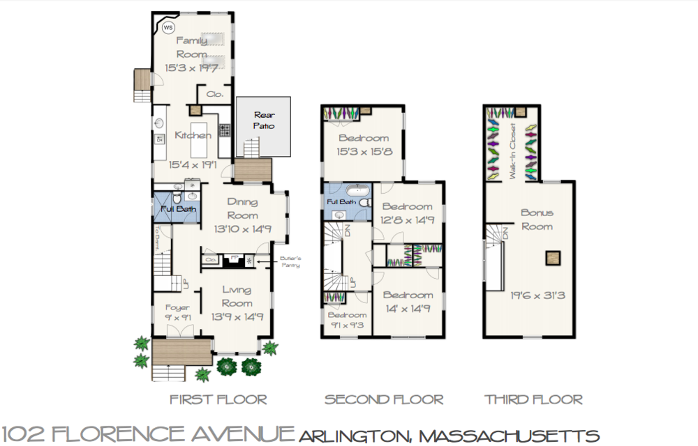 102 Florence Ave Floor Plan