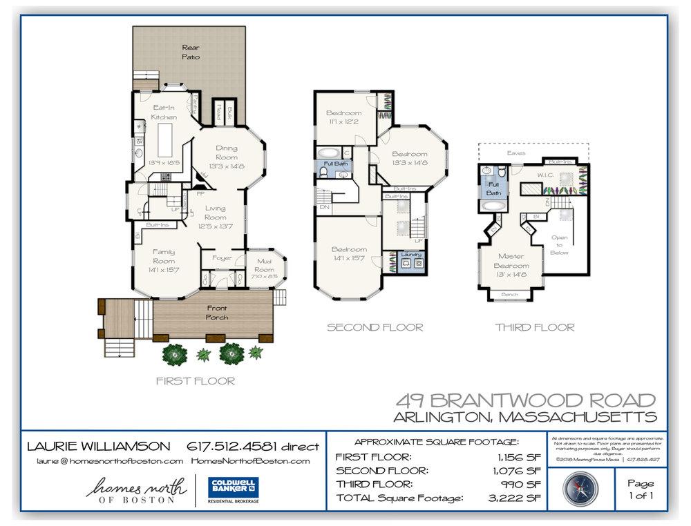 49 Brantwood Road Floor Plan