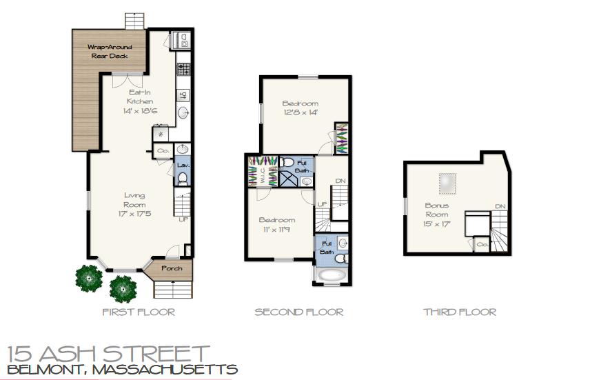 15 Ash Street Belmont Floor Plan