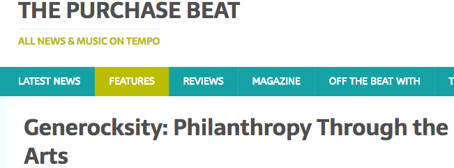 http://www.thepurchasebeat.com/generocksity-philanthropy-through-the-arts/
