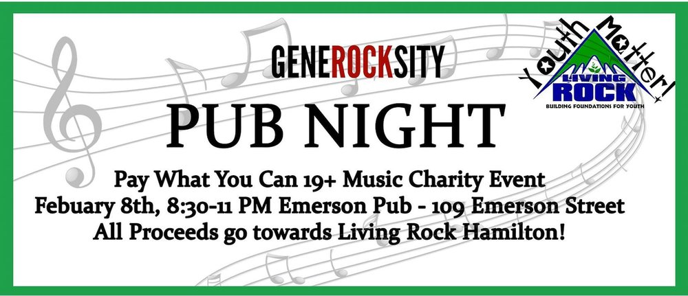 GENEROCKSITY PRESENTS: PUB NIGHT @ EMERSON PUB (2/17)