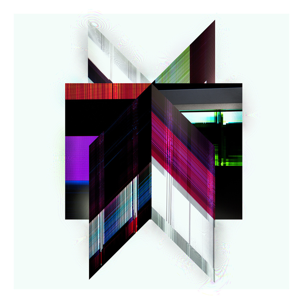 "Multi Domain Vertical Alignment   Archival Pigment Print, editon of 3   23"" x 24""    2012"