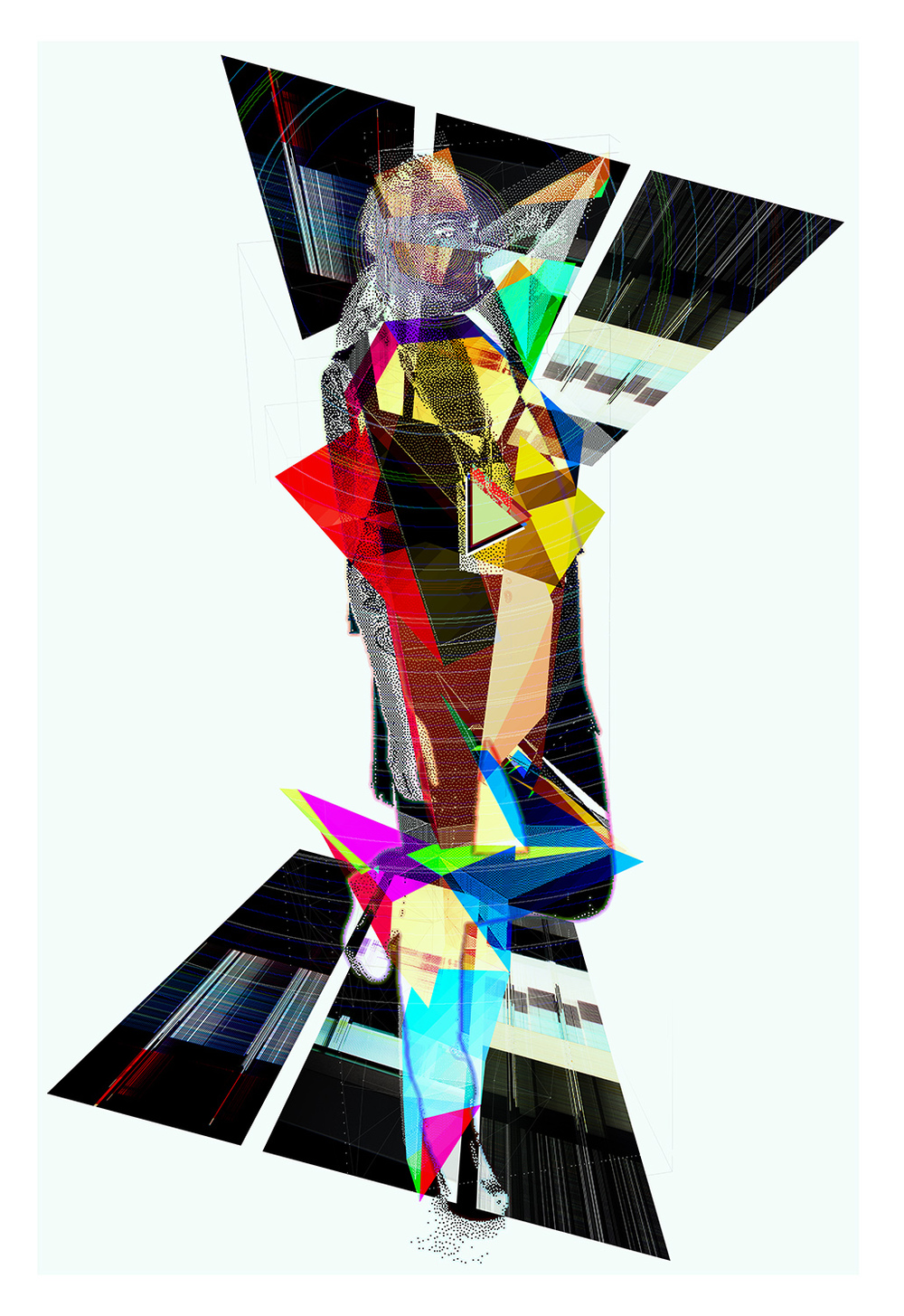 "Singularity   Archival Pigment Print, edition of 3   44"" x 64""    2012"