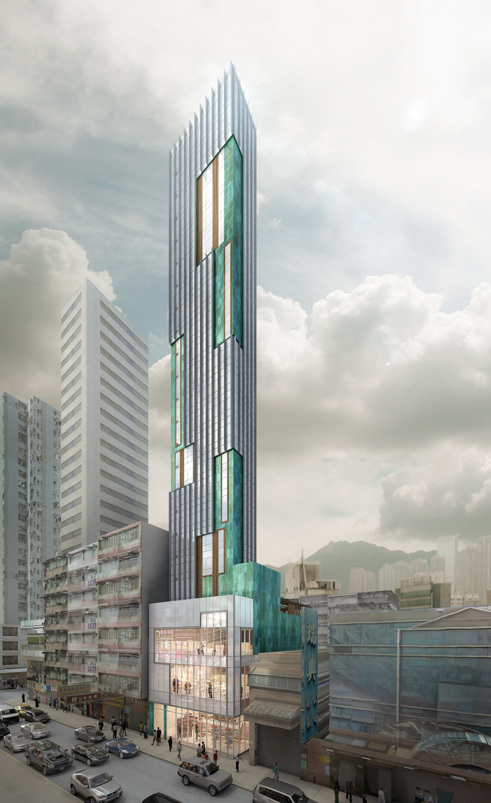 MONGKOK TOWER | HONG KONG (RETAIL PODIUM)