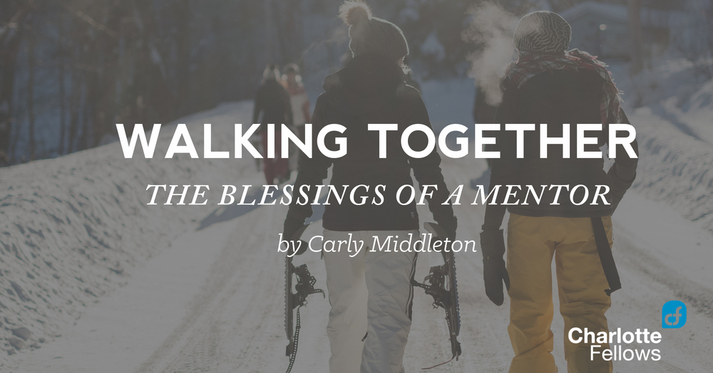 walking together blessings mentor