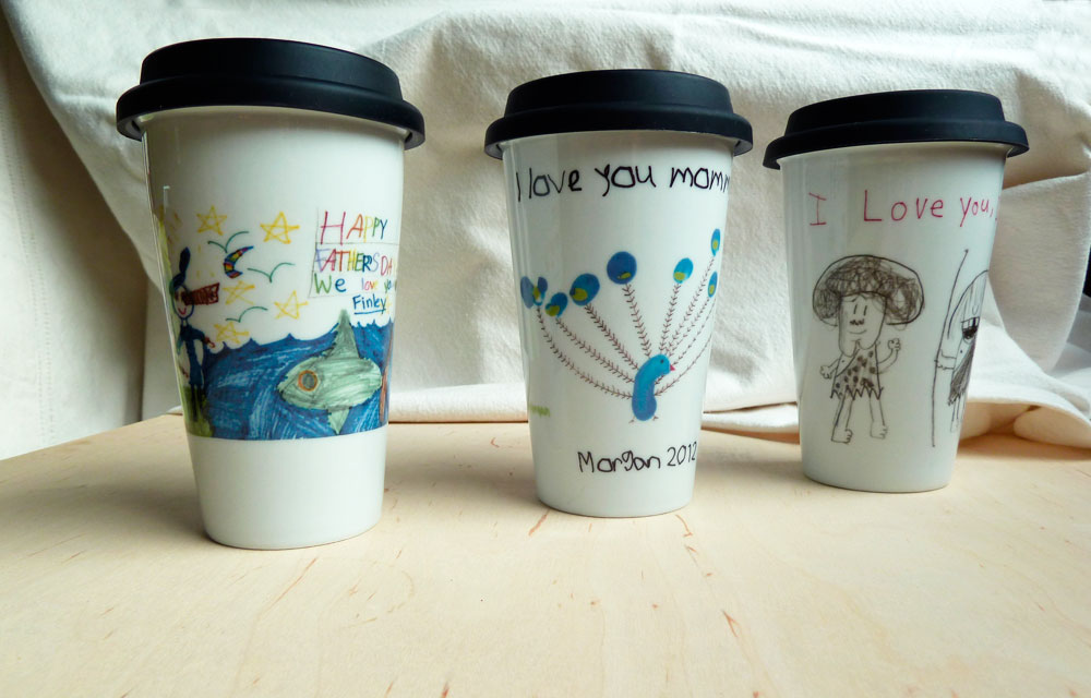 Digital Decals are well suited to small run personalized projects like these children's illustrations.