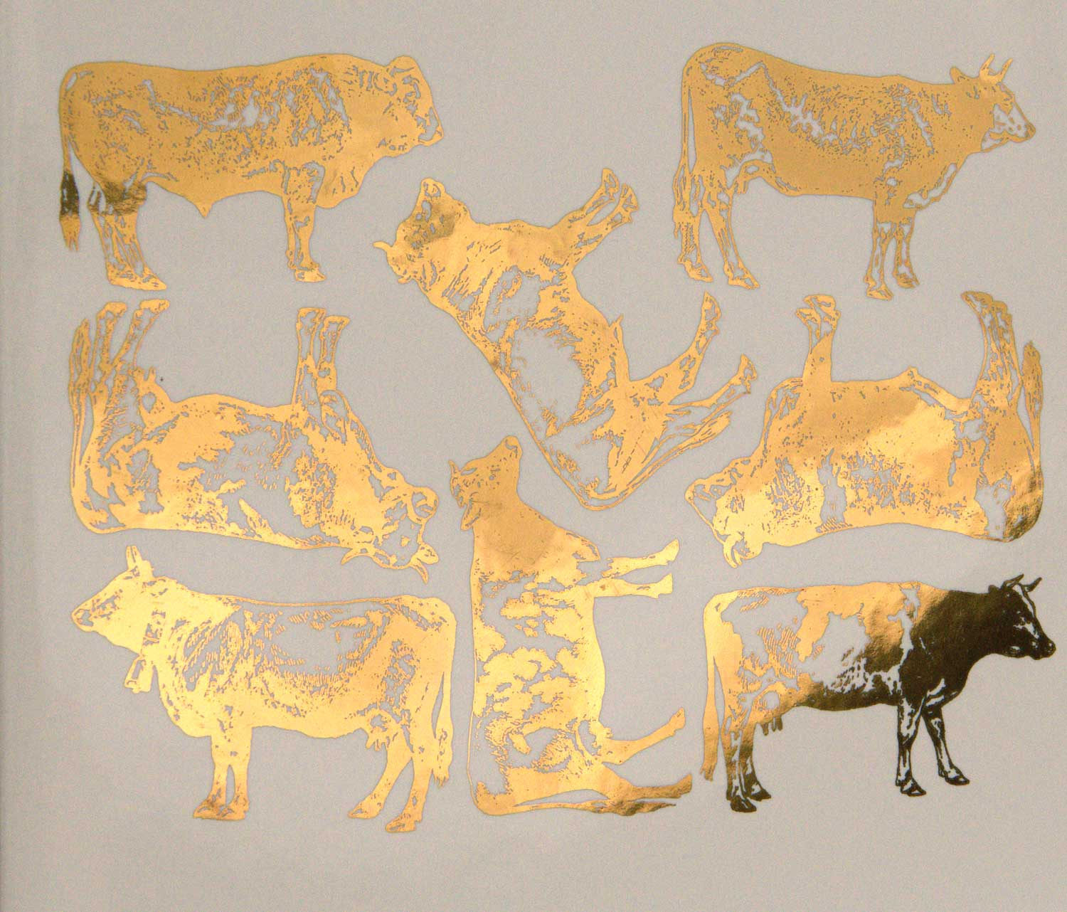 Cow Decals for Ceramic, Glass and Enamel — Custom Ceramic Decals ...