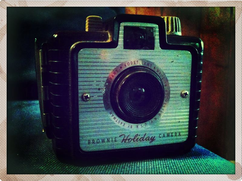 Antique find. #iphoneography #pictureshow #kodak #brownie