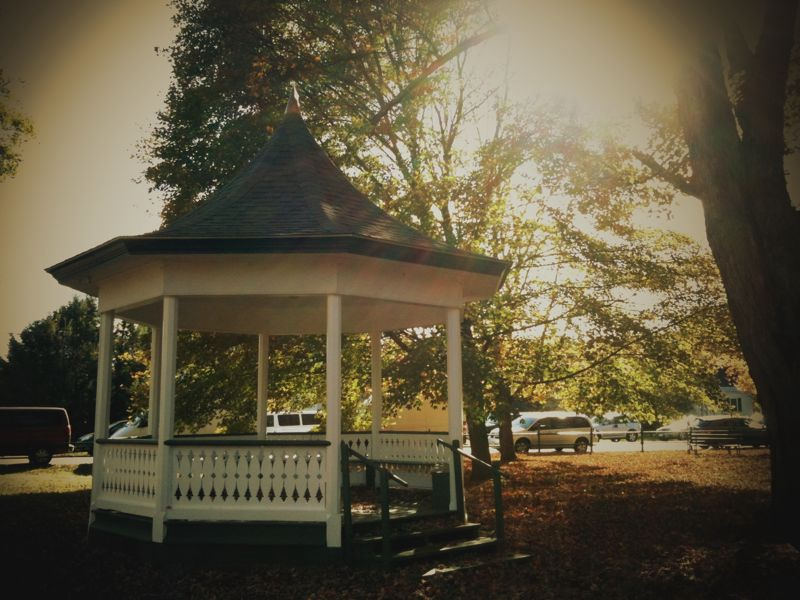 Weston gazebo. #iphoneography #infinicam