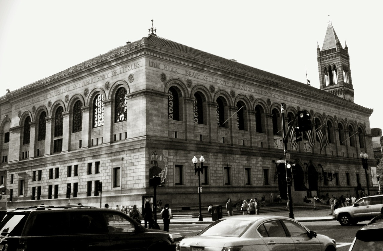 Boston Public Library. #iphoneography