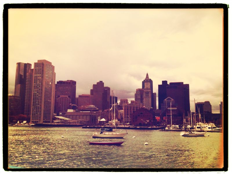 Riding the water taxi. #Boston #iphoneography