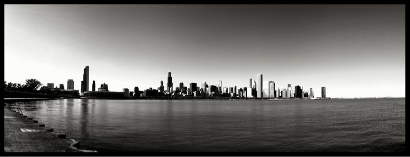 Chicago skyline. #iphoneography #autostich