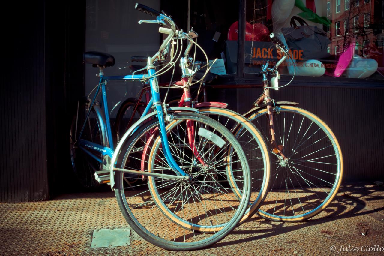 Vintage wheels.