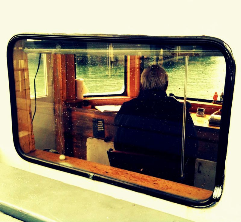 At the helm. #iphoneography