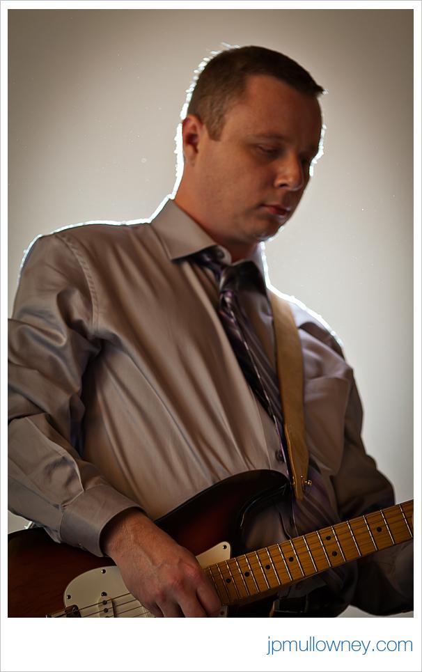 Derrick Rips a Guitar Solo