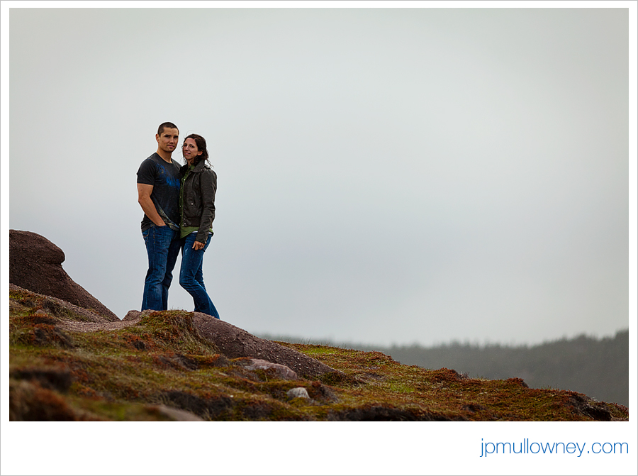 Jon and Julia at Cape Spear