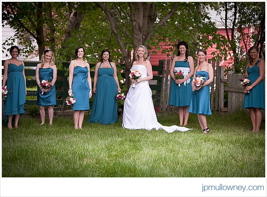 Bridesmaids Model Pose