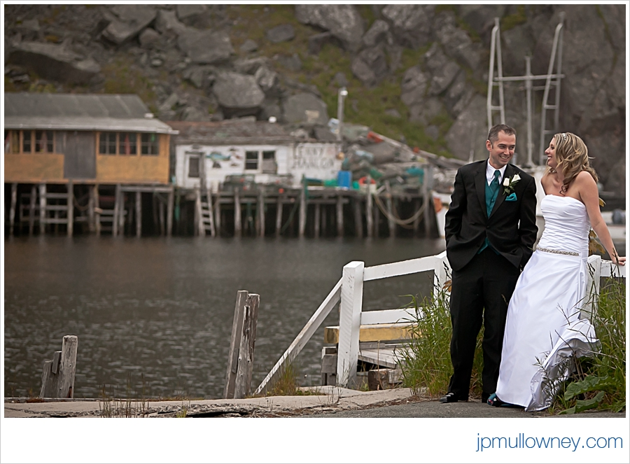 Brad and Marilyn in Quidi Vidi