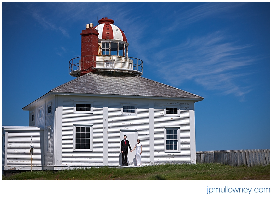 Jasmine and Josh at the Lighthouse