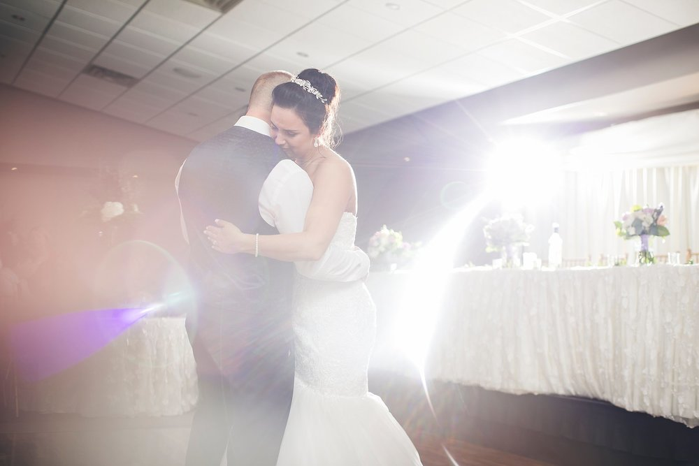 Intimate moment between Bride and Groom at Glendenning during a St. John's, Newfoundland wedding