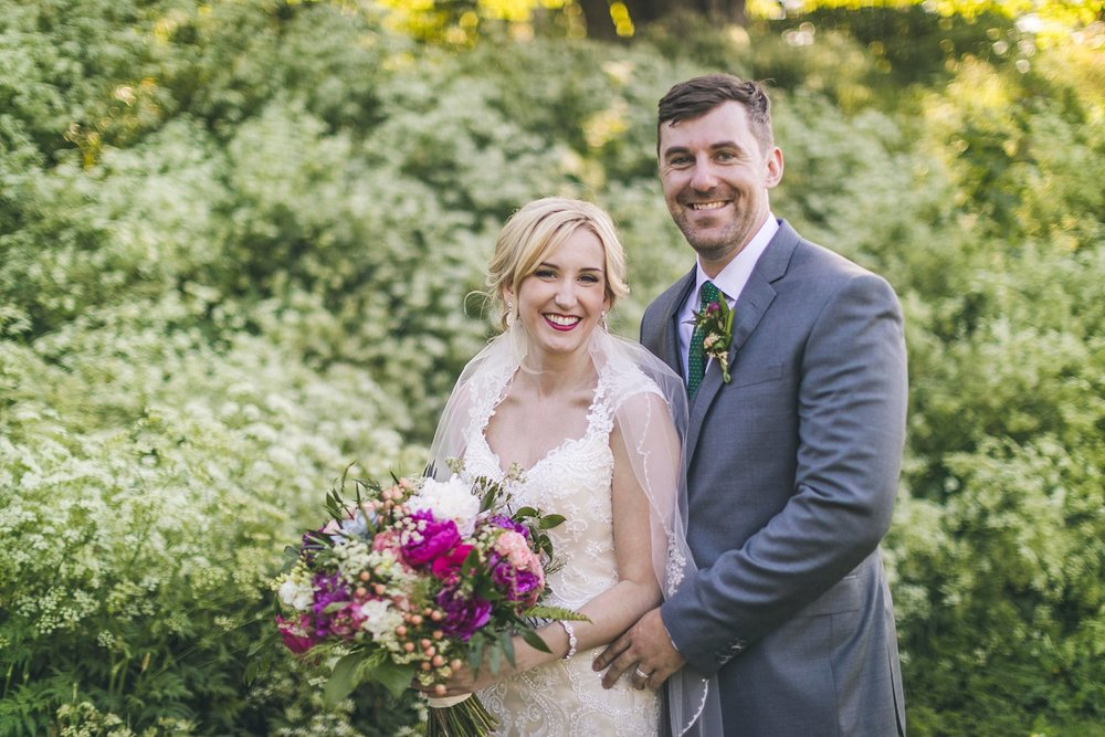 Newfoundland wedding photographer photographs Bride and Groom in St. John's