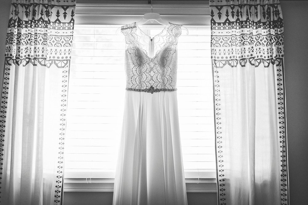 Wedding dress from The Bridal Salon in St. John's, Newfoundland