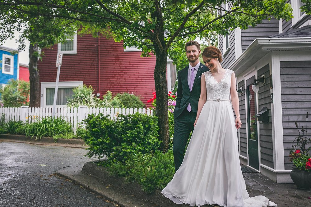 Downtown St. John's Wedding Photography