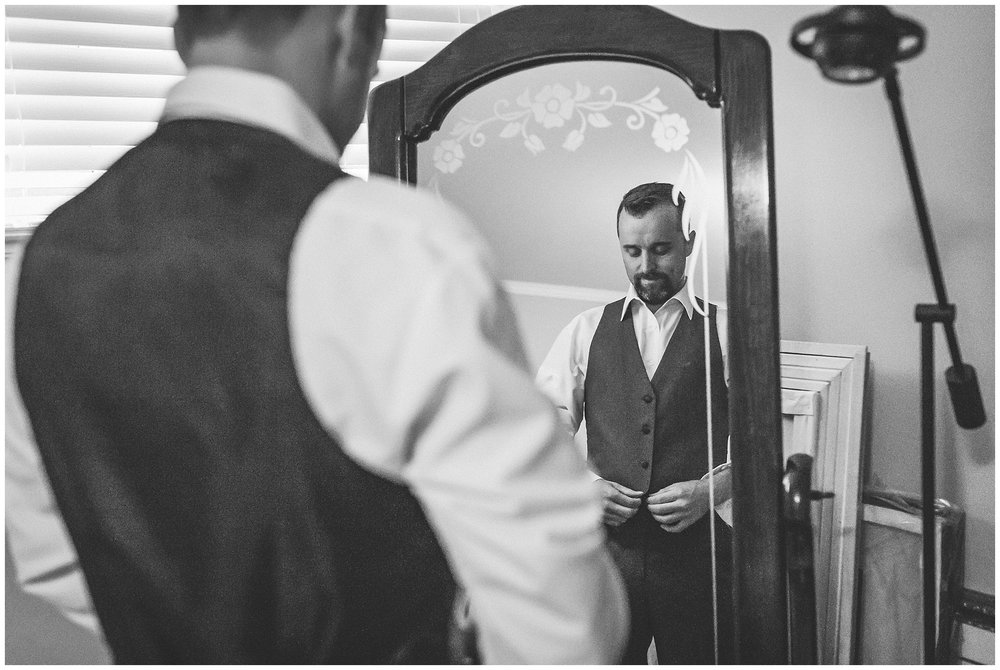 Groom prepares for this wedding day in St. John's, NL