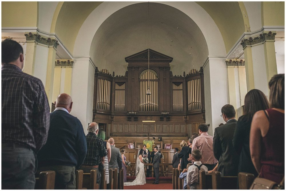 Wedding at Wesley United Church