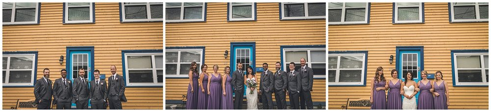 Wedding Party in St. John's