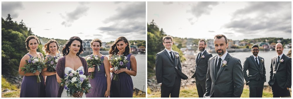 Groomsmen and Bridesmaids in Quidi Vidi