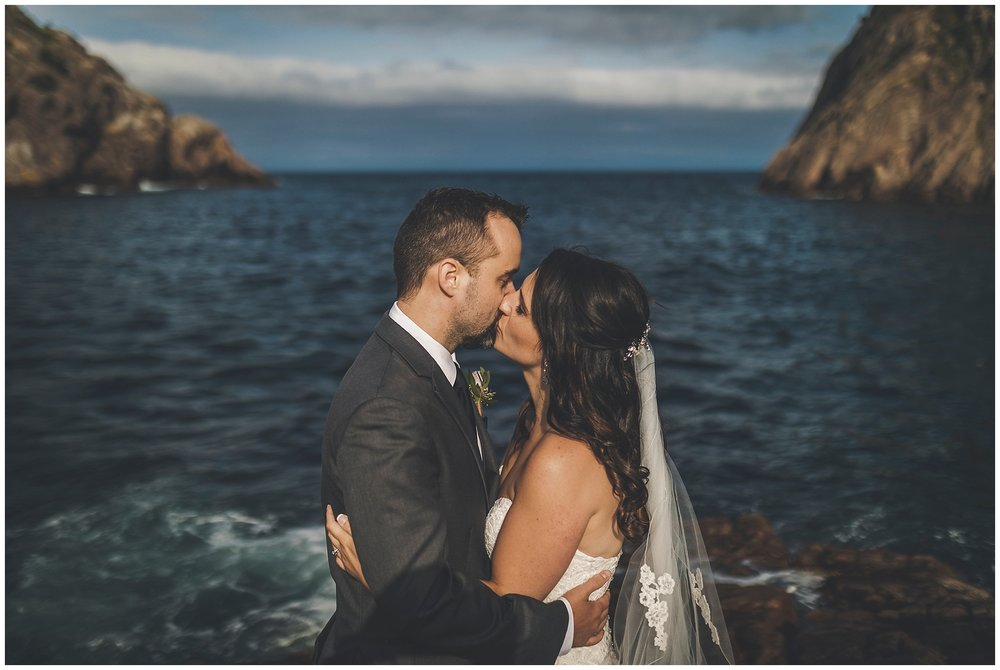 Bride and Groom in Quidi Vidi