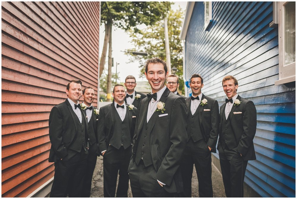 Groomsmen Downtown