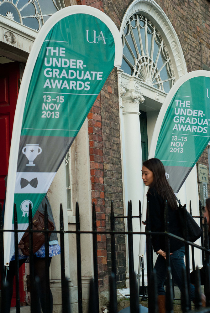 The Undergraduate Awards Branding / Print Design