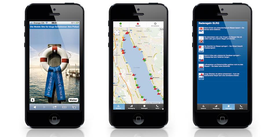 Die App für den perfekten Badespass