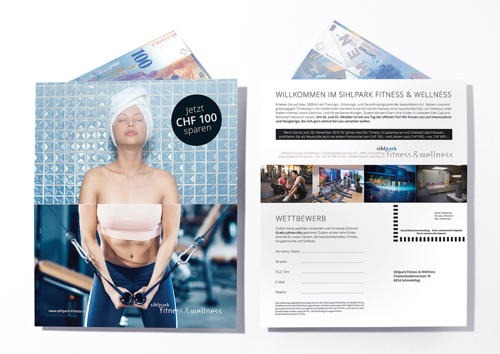 Mailing Sihlpark Fitness & Wellness
