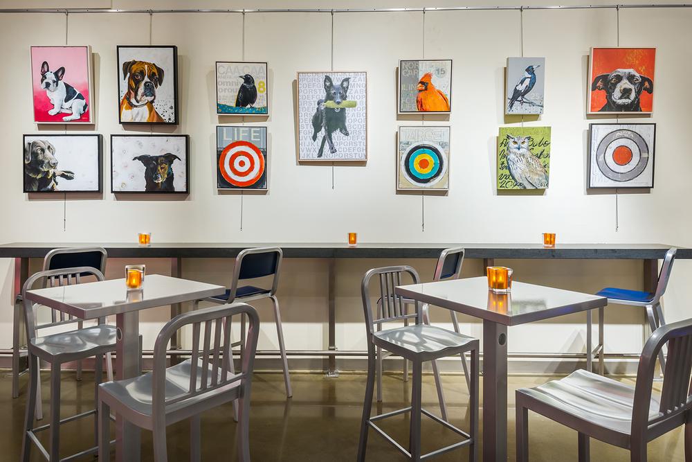 WXYZ Gallery Wall