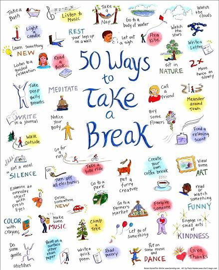 "Karen Horneffer-Ginter, Ph.D. | ""50 Ways to Take a Break, and the Essential First Step of Remembering"""