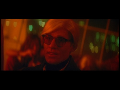 Crispin Glover as Andy Warhol, or Andy Warhol as Crispin Glover?