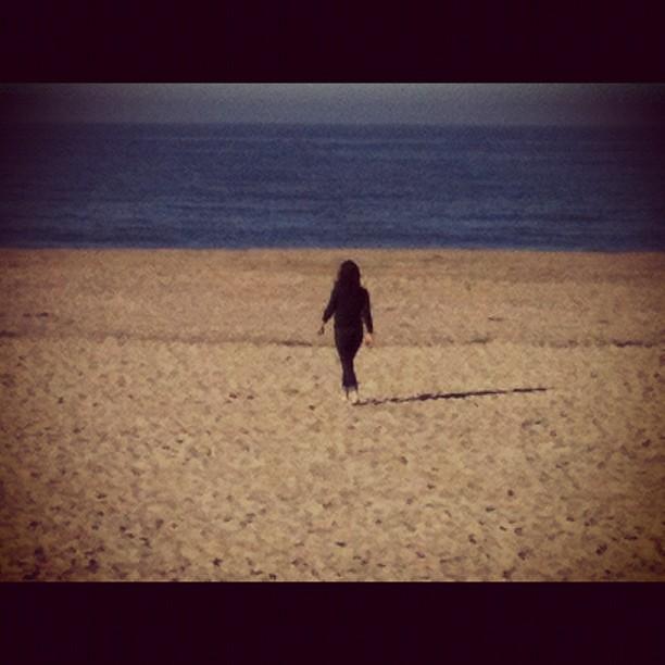 Laura on the Beach I