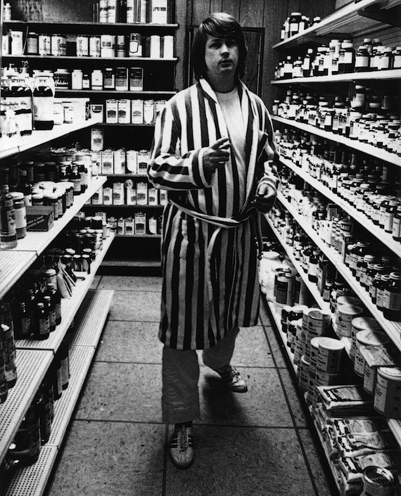 beenlookingforthemagic :     Brian Wilson, Radiant Radish Health Food Store, West Hollywood, 1969-70.   On  the story behind L.A. Smog  (spoken word), plus a great 1976    interview with Mike Douglas .    (via  aquariumdrunkard )