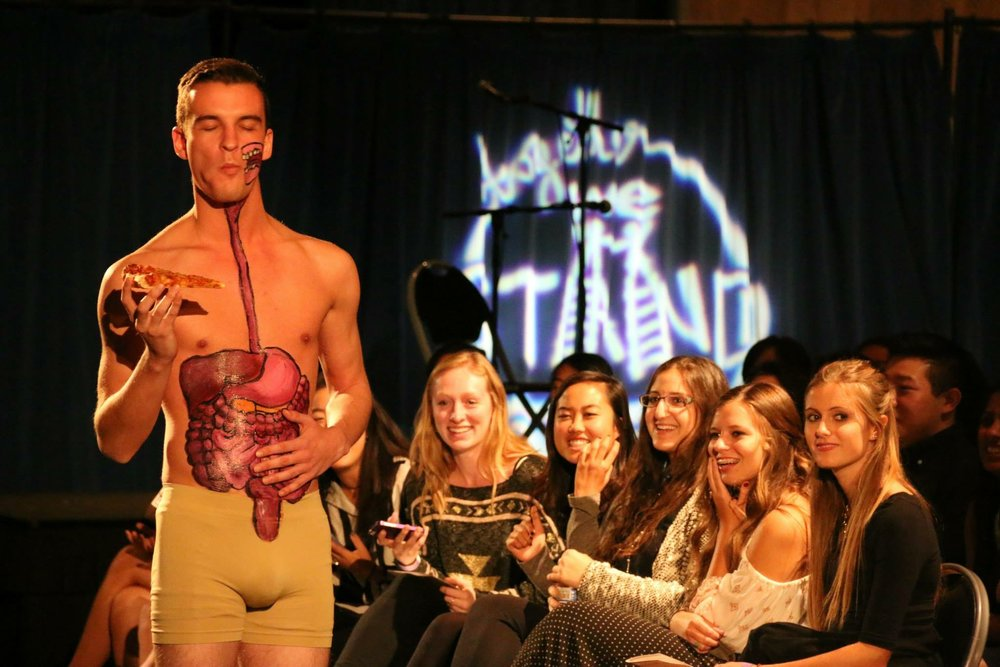 Anatomy Fashion Show:     One of the most memorable fundraisers our Fraternity has conducted to raise $25,000 for Children's Hospital, Los Angeles.