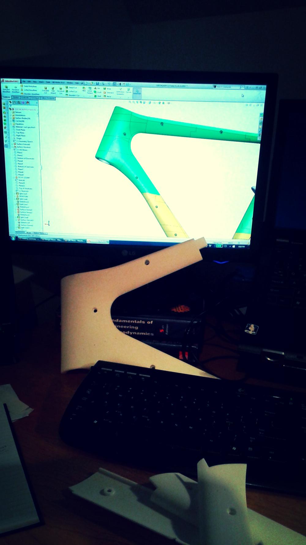 3D printing CAD model