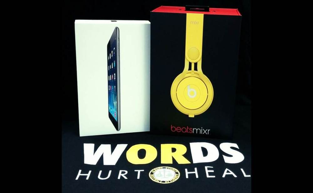 Grand Prize Option 2: iPAD Mini and Beats by Dr. Dre!