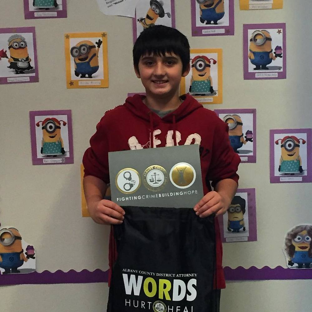 Congrats to Jacob from Voorheesville Middle School for being our third #WORDS weekly winner of January! Great work Jacob!