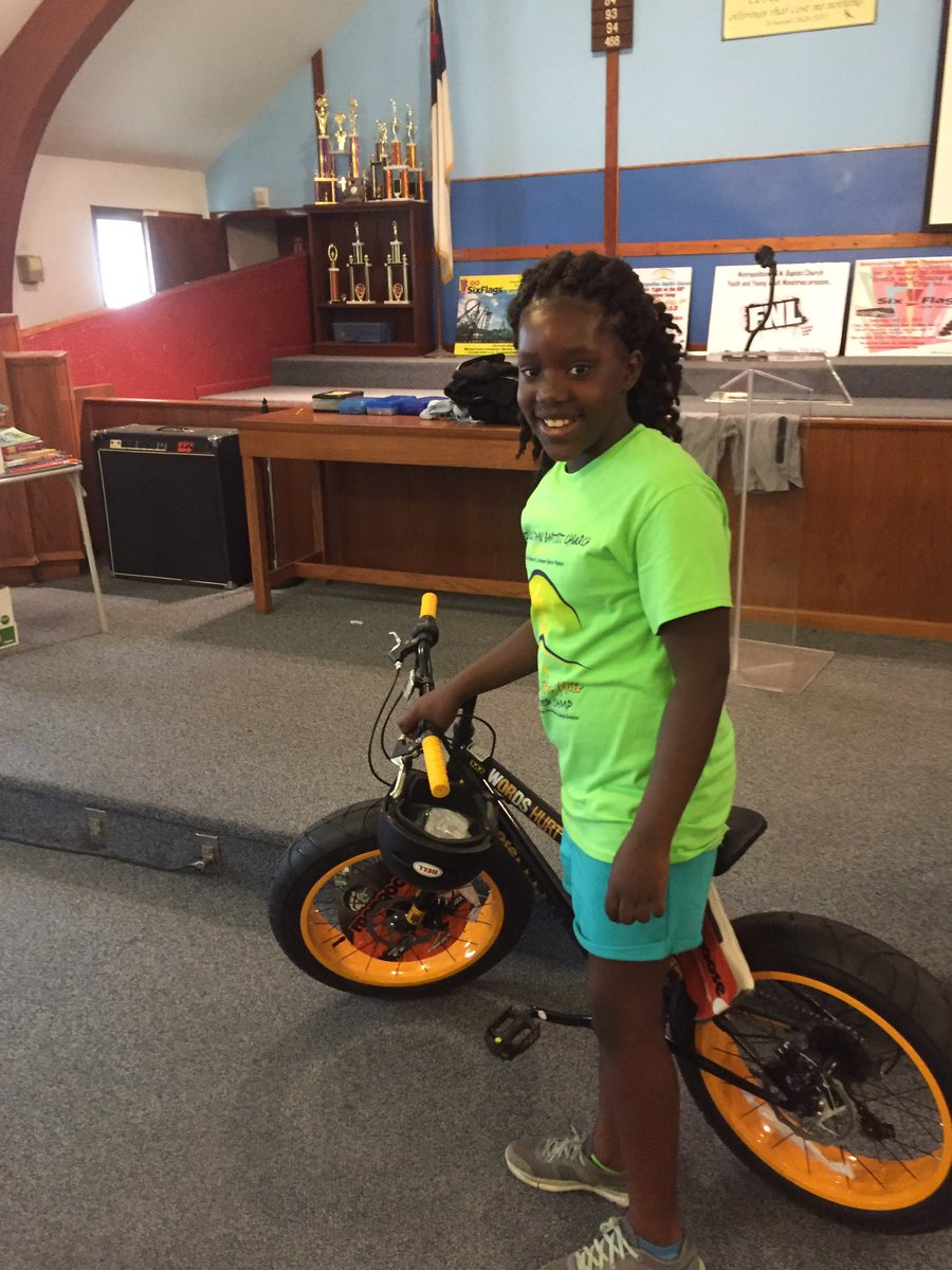 Lanija from Metrropolitan Baptist Chuch Summer Camp