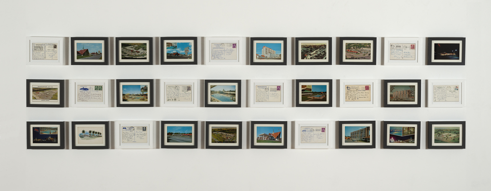 HOJOs Postcard Archive, Installation View