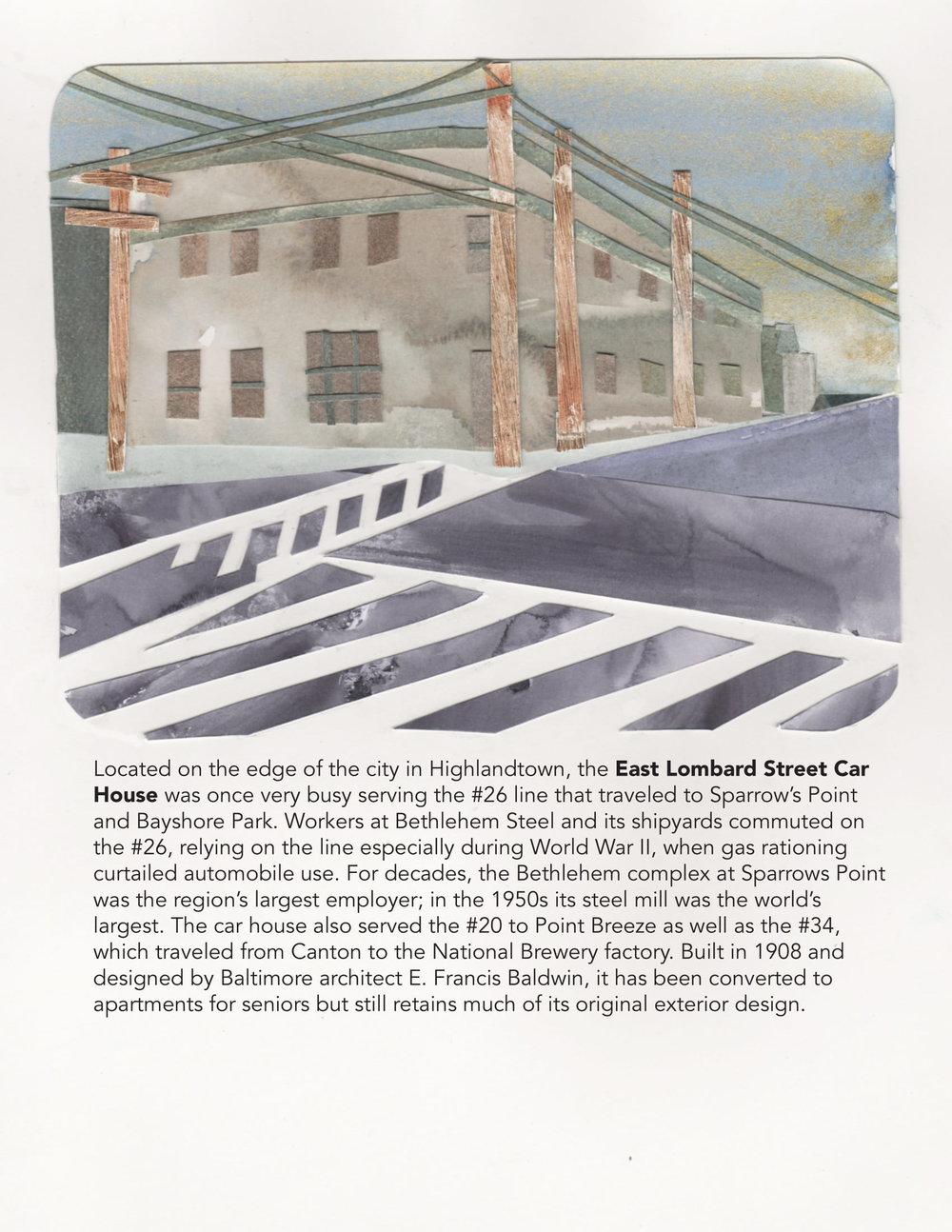 East Lombard Street Car House, 2018