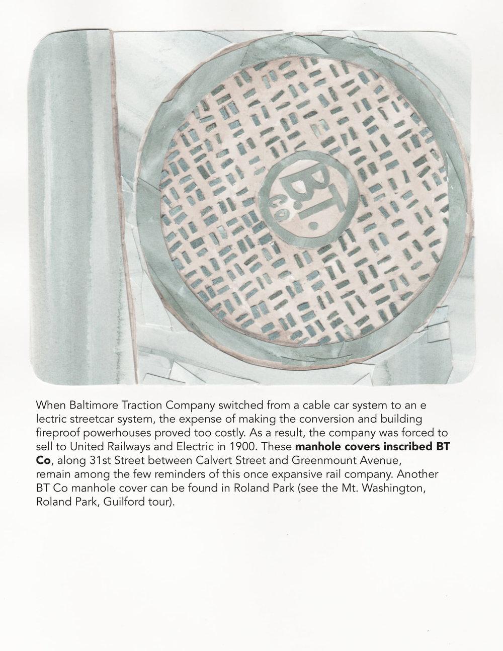 BT Co Manhole Covers, 2018